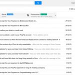 Chat al lado derecho en Gmail y robot Android