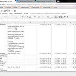 Exportar Calendario (Google Calendar) a Hoja de Cálculo de Google Drive