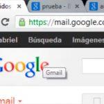 Icono de mensajes no leídos en Gmail