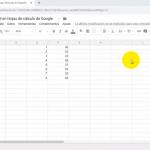 Cómo usar fórmulas en Español en Hojas de cálculo de Google