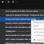 Cómo posponer correos electrónicos en Gmail
