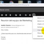 Cómo crear un evento de Google Calendar en Gmail