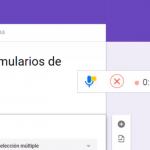 Cómo agregar audios en Formularios de Google