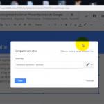 Cómo crear un enlace directo al modo presentación en Presentaciones de Google