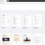 Cómo crear Curriculum o Resume en Documentos de Google utilizando Plantillas de Google Docs